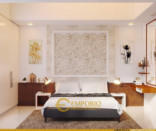 Interior Design Apsara Villa 1 Floor Design - Badung, Bali