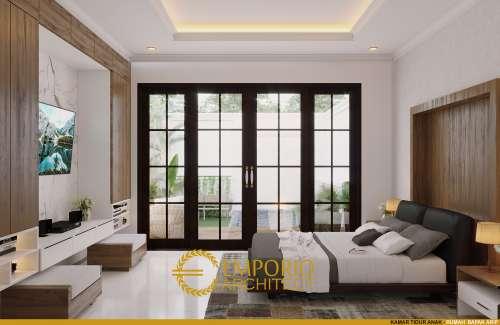 Desain Interior Desain Rumah Classic 1 Lantai Bapak Arip
