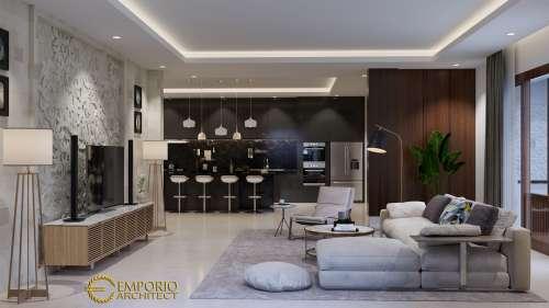 Desain Interior Desain Rumah Villa Bali 3 Lantai Bapak Alfred