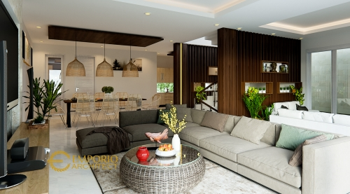 Interior Design Mr. Rendy Modern House 2 Floors Design - Makassar