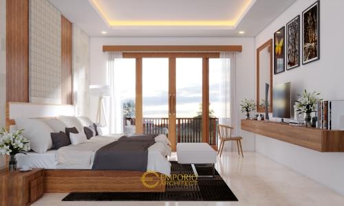 Desain Interior Desain Rumah Villa Bali 2 Lantai Ibu Putri