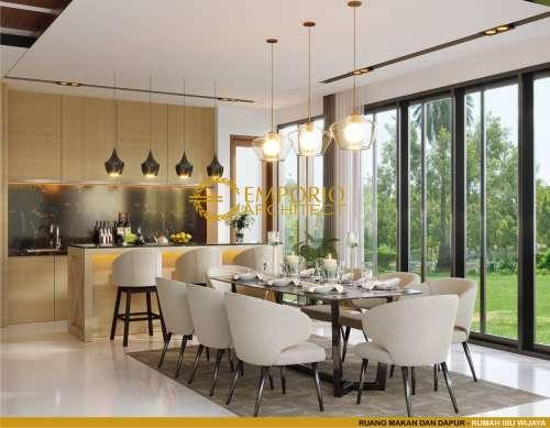 Desain Interior Desain Rumah Modern 3 Lantai Ibu Wijaya