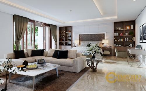 Desain Interior Desain Rumah Hook Villa Bali 3 Lantai Bapak Hadi