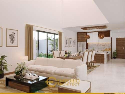 Interior Design Mrs. Emi Villa Bali House 2 Floor Design - Medan, Sumatera Utara