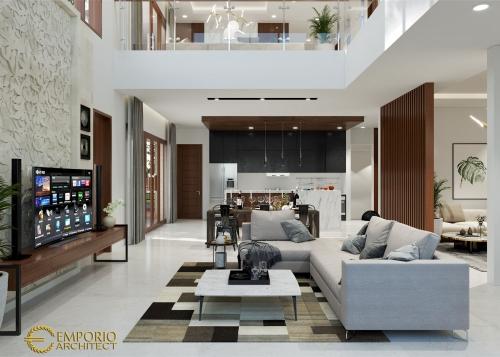 Desain Interior Desain Rumah Hook Modern 2 Lantai Bapak Yudi Rumawan