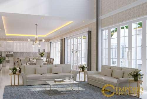 Desain Interior Desain Rumah Classic 2 Lantai Bapak Joni
