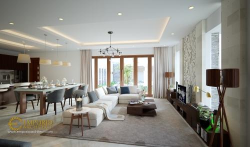 Desain Interior Desain Rumah Hook Villa Bali 2 Lantai Ibu Suli