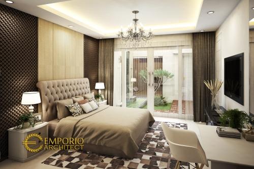 Desain Interior Desain Rumah Modern Tropis 2 Lantai Bapak Okov