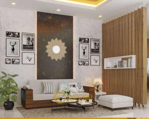 Interior Design Mr. Ian Villa Bali House 2 Floors Design - Palembang, Sumatera Selatan