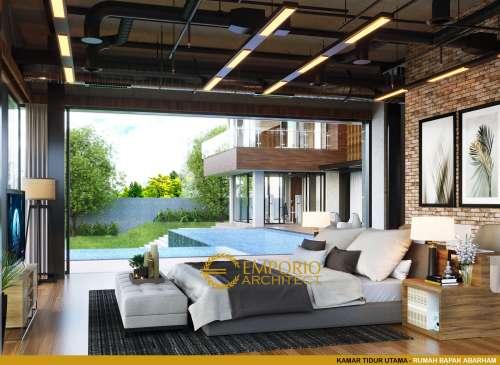 Desain Interior Desain Rumah Modern 2 Lantai Bapak Abarham