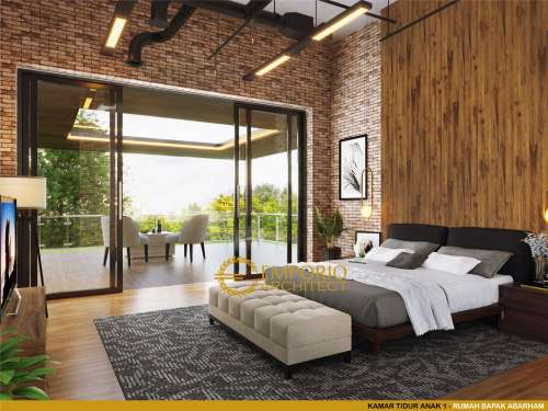 Interior Design Mr. Abarham Modern House 2 Floors Design - Palembang, Sumatera Selatan