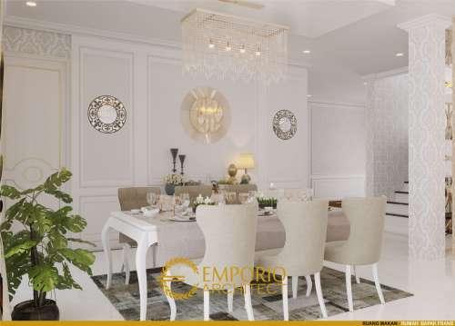 Desain Interior Desain Rumah Classic 2 Lantai Bapak Frans