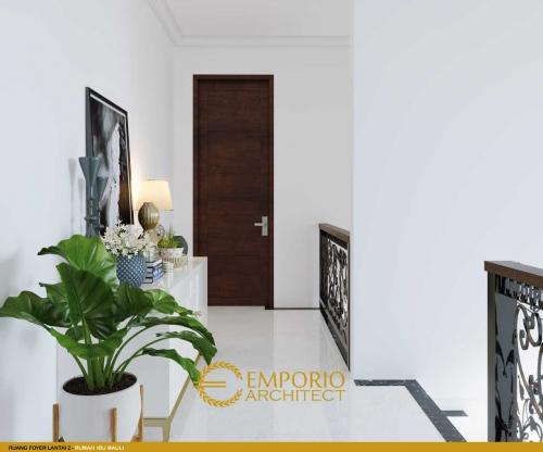 Desain Interior Desain Rumah Classic 2 Lantai Ibu Mauli
