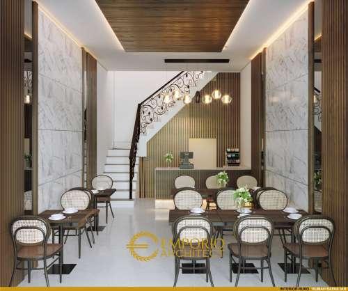 Desain Interior Desain Villa dan Ruko Modern 2 Lantai Bapak Yan
