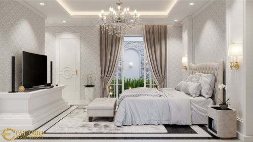 Interior Design Mr. Suza Classic House 2 Floors Design - Pekanbaru, Riau