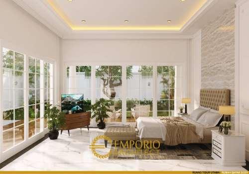 Interior Design Mr. Dody Classic House 2 Floors Design - Pekanbaru, Riau