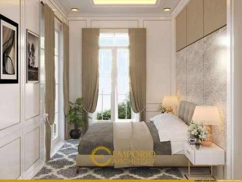 Interior Design Mr. Sinaga Classic House 3 Floors Design - Pekanbaru, Riau