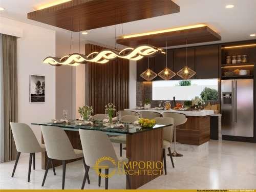 Interior Design Mrs. Cynthia Angraini Tampubolon Modern House 2 Floors Design - Pekanbaru, Riau