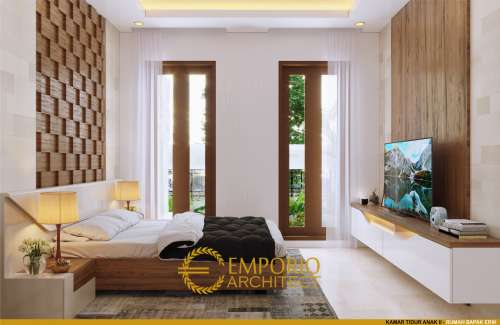 Interior Design Mr. Erik Villa Bali House 1.5 Floors Design - Pekanbaru, Riau
