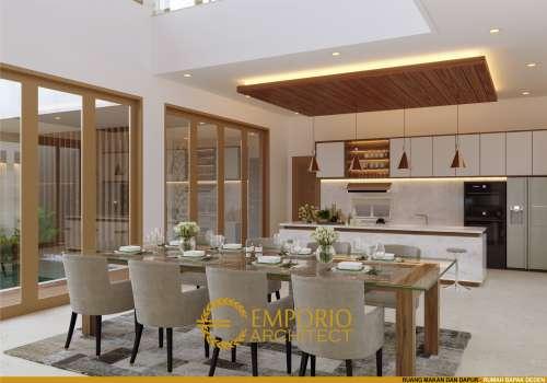 Interior Design Mr. Deden Villa Bali House 2 Floors Design - Purwakarta, Jawa Barat