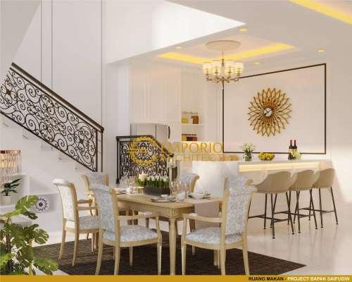 Interior Design Mr. Saifudin Classic House 2 Floors Design - Serang, Banten