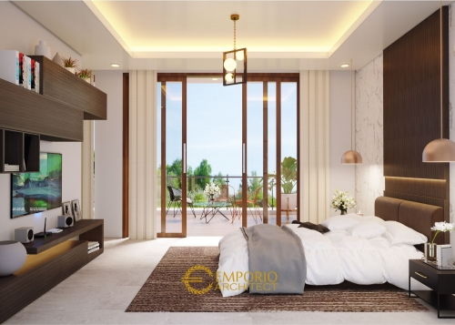 Desain Interior Desain Rumah Villa Bali 2 Lantai Bapak Heri Supriatianto