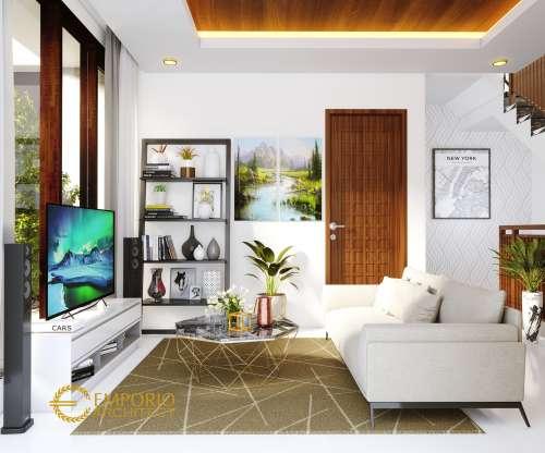 Desain Interior Desain Rumah Modern 3 Lantai Bapak Adam