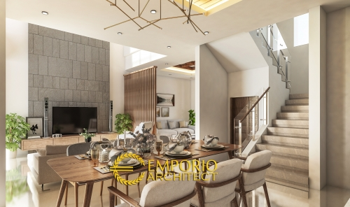Interior Design Mr. Fahmi Villa Bali House 2 Floors Design - Sidoarjo, Jawa Timur