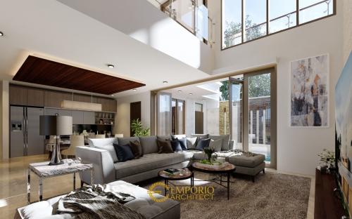 Desain Interior Desain Rumah Villa Bali 2 Lantai Bapak Fahmi II