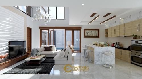 Desain Interior Desain Rumah Villa Bali 2 Lantai Bapak Hasyim