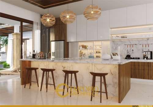 Desain Interior Desain Rumah Scandinavian 1 Lantai Ibu Dewi dan Bapak Mike