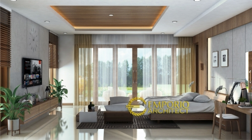 Interior Design Mr. Wiyono Modern House 2 Floors Design - Solo, Jawa Tengah