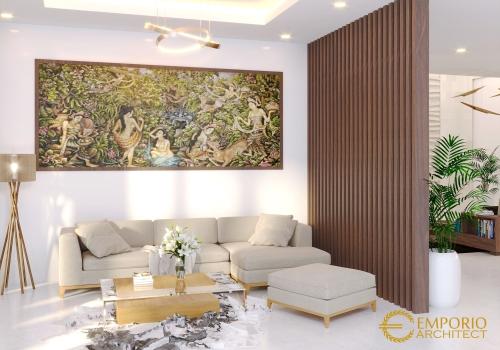 Desain Interior Desain Rumah Villa Bali 2 Lantai Ibu Rika