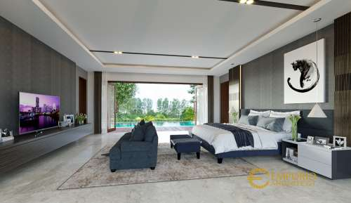 Interior Design Mr. Andy Modern House 2 Floors Design - Sumatera Utara