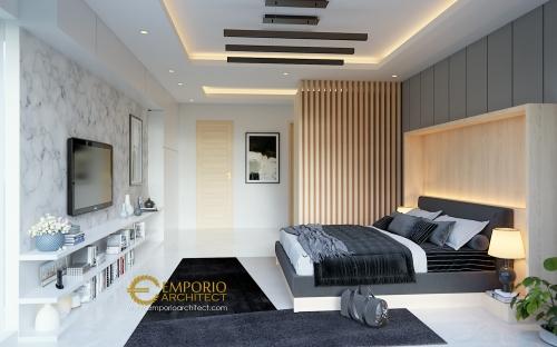 Desain Interior Desain Rumah Modern 2 Lantai Ibu Herlina
