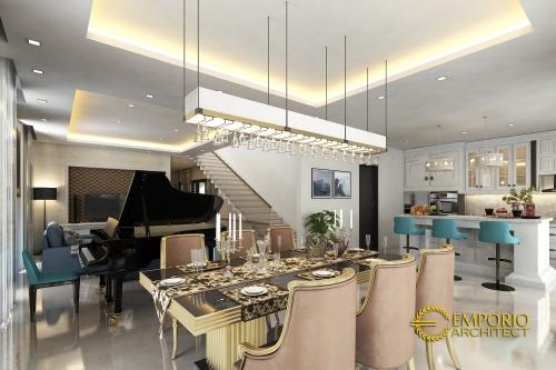 Desain Interior Desain Rumah Hook Classic 3 Lantai Ibu Chrislie