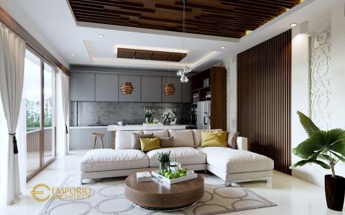 Interior Design Mrs. Lidesy Layarda Villa Bali House 3 Floors Design - Surabaya