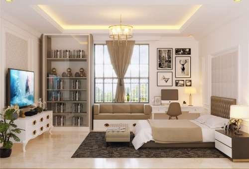 Interior Design Mr. Sindhu Villa Bali House 2 Floors Design - Surabaya, Jawa Timur