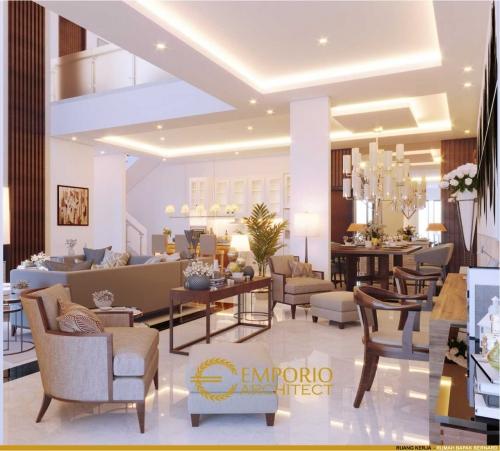 Interior Design Mr. Bernard Modern House 2 Floors Design - Tangerang, Banten