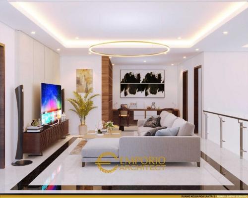 Desain Interior Desain Rumah Modern 2 Lantai Bapak Bernard
