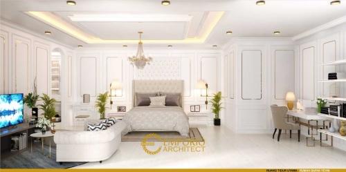 Interior Design Mr. Yevni Classic House 2 Floors Design - Tangerang, Banten