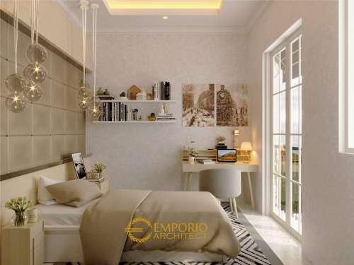 Interior Design Mr. Oscar Classic House 2 Floors Design - Tangerang, Banten