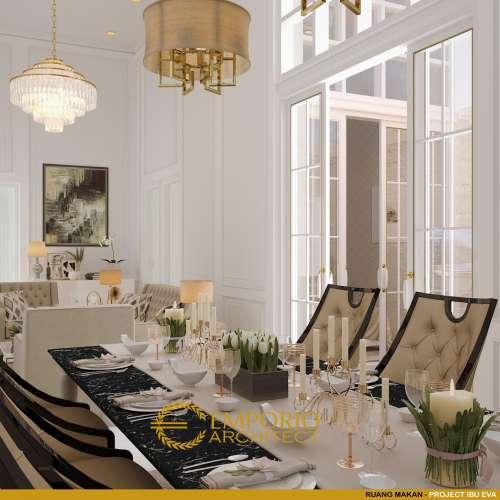 Desain Interior Desain Rumah Classic 3 Lantai Mrs. E