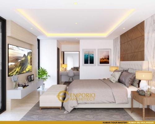 Desain Interior Desain Rumah Unik 2.5 Lantai Ibu Wulansari