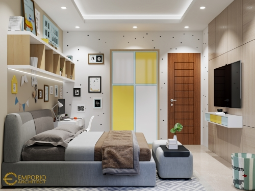 Interior Design Mr. Hr Modern House 3 Floors Design - Tangerang