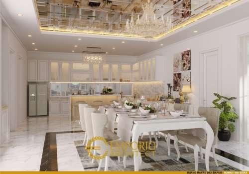Interior Design Mrs. Siska Classic House 2 Floors Design - Tangerang