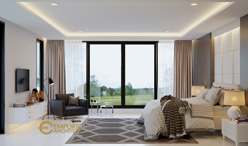 Desain Interior Desain Rumah Modern 3 Lantai Ibu Shirly