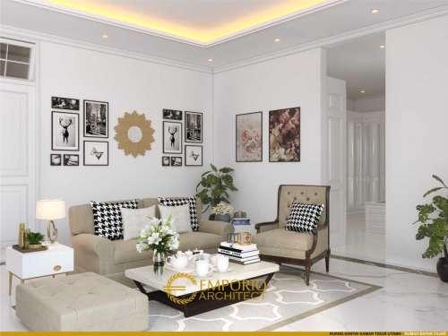 Interior Design Mr. Fajar Classic House 2.5 Floors Design - Tangerang Selatan, Banten