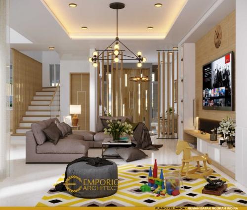 Interior Design Mr. Ngurah Indira Modern House 2 Floors Design - Tangerang Selatan, Banten