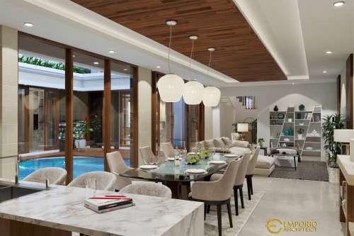 Desain Interior Desain Rumah Villa Bali 2 Lantai Bapak Rahmad